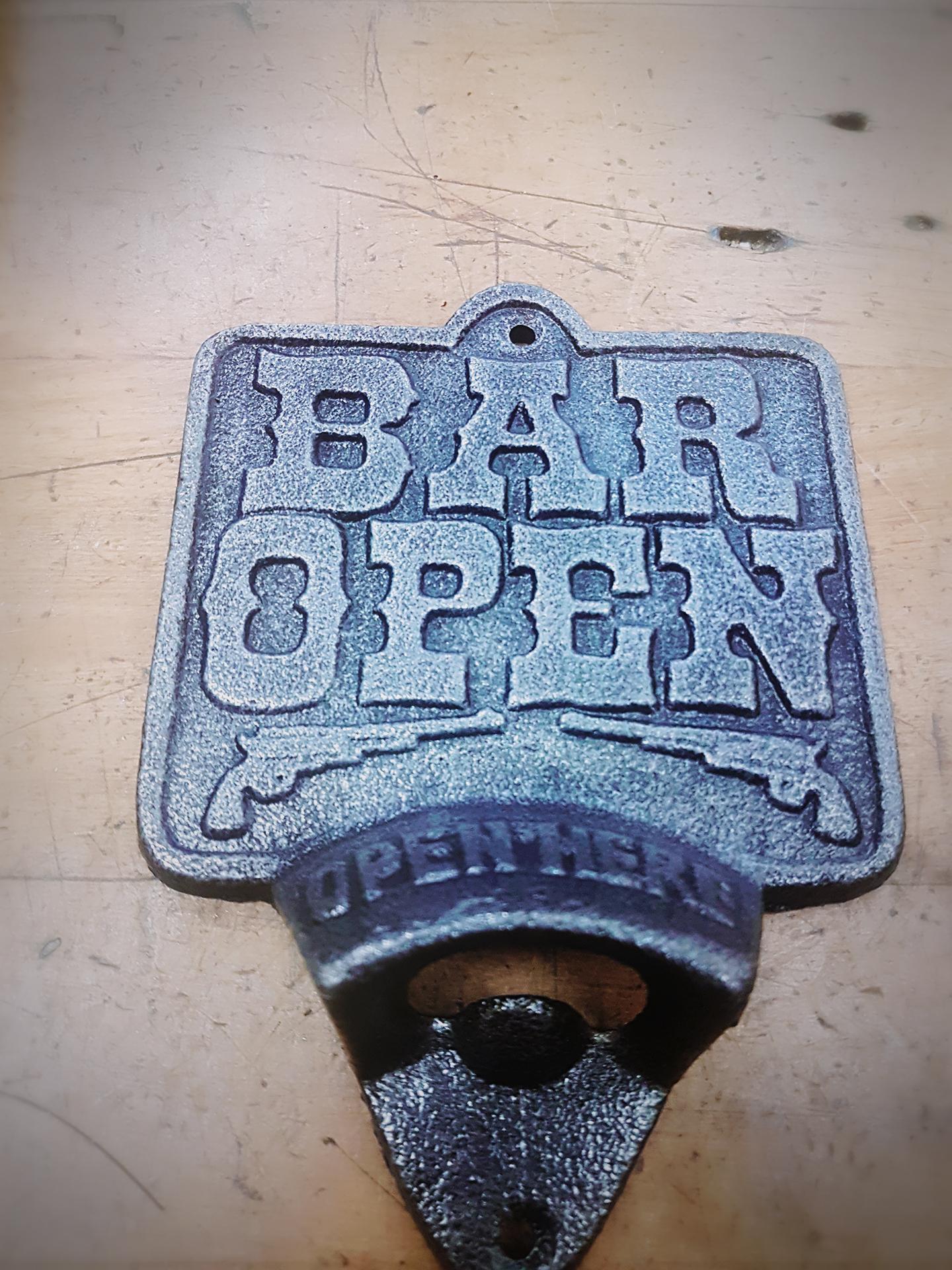 bar open bottle opener back country gifts christchurch new zealand. Black Bedroom Furniture Sets. Home Design Ideas