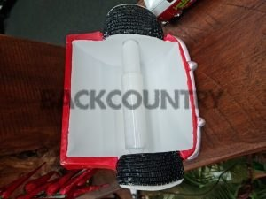 bottom side of toilet roll holder of vw combie
